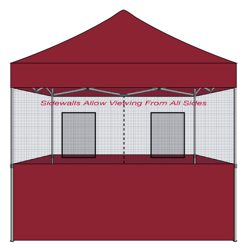 Food Vendor Tent 10x10