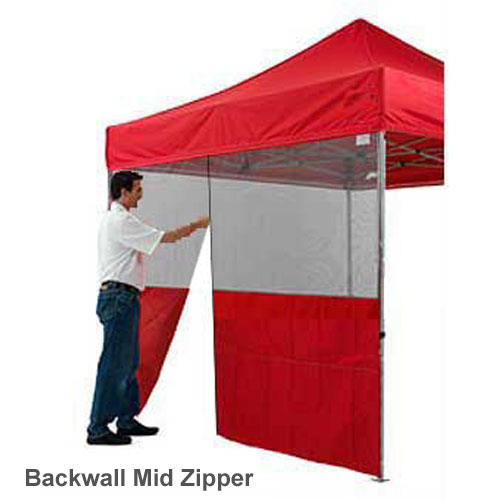 10x10 Food Vendor Tent Wall