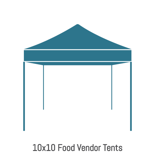 Food Vendor Tents 10x10