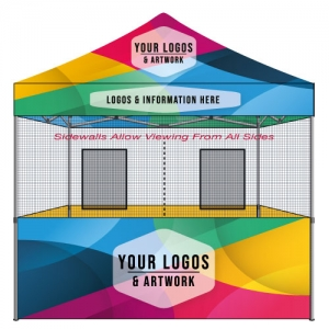 10x10 Food Vendor Tent Custom