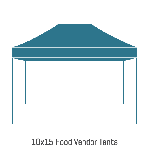 Food Vendor Tents 10x15