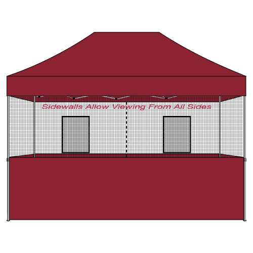 10x15 Food Vendor Tent