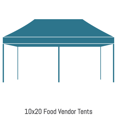 Food Vendor Tents 10x20