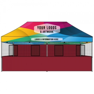 Food Vendor Tent 10x20 Custom