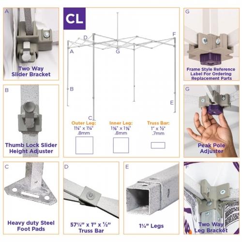 CL Steel Frame Specs