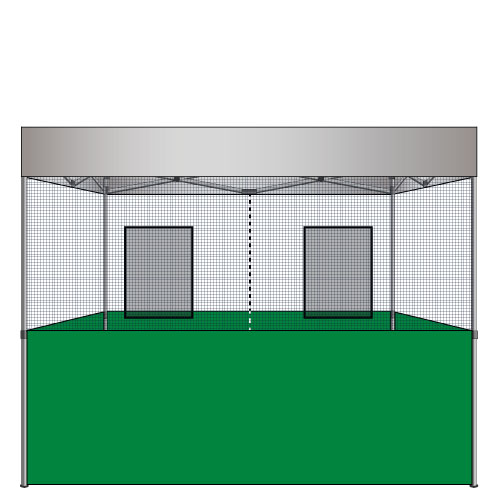 Food Vendor Tent Flame Retardant Walls