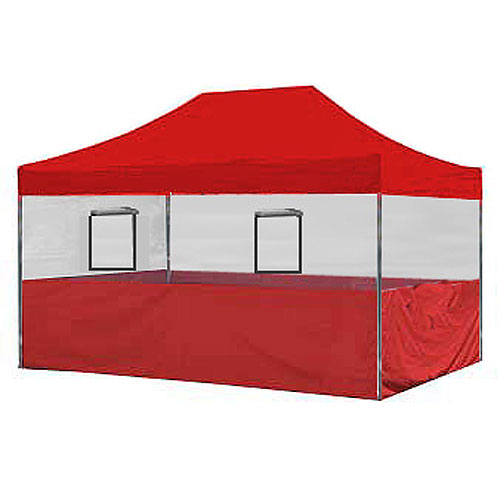Food Vendor Tent Walls 10x15