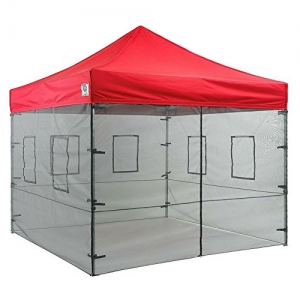Food Vendor Tent Mesh Wall System