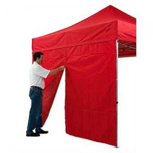 Food Vendor Tent Sidewall Zipper