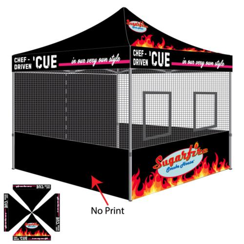 sugarfire smokehouse food tent