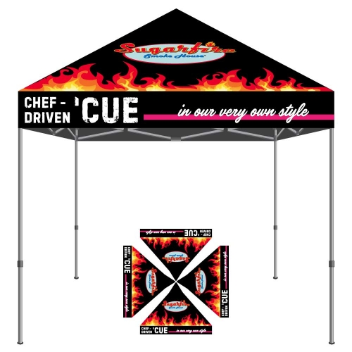 sugarfire smokehouse tent