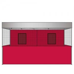 Food Vendor Tent Walls Flame Retardant