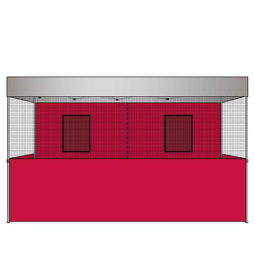 Food Vendor Tent Walls Flame Retardant