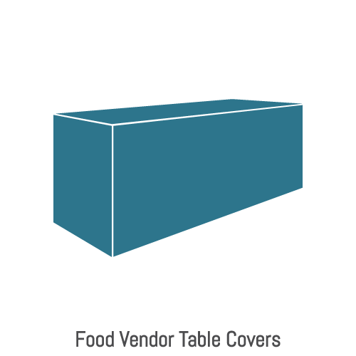 fodd vendor tent tabel covers